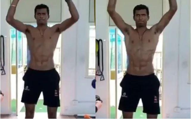 WATCH : नवदीप सैनी ने अपने वर्कआउट का वीडियो किया पोस्ट, फिजिक देख हर कोई हैरान 6