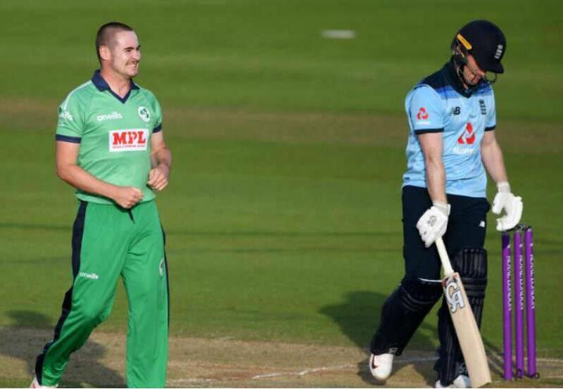 जॉनी बैरेस्टो का विकेट लेने के बाद आयरलैंड के गेंदबाज ने की शर्मनाक हरकत 4
