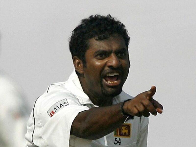 """मुथैया मुरलीधरन ने इस भारतीय बल्लेबाज से कहा था """"आउट हो और जाओ"""" 6"""