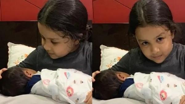 जीवा की गोद में नजर आया छोटा बच्चा, फैंस ने साक्षी को दे डाली दूसरी बार मां बनने की बधाई 5