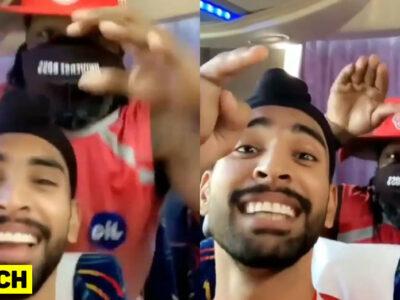 IPL 2020 : अश्लील भोजपुरी गाने पर क्रिस गेल ने किया डांस, देखें वीडियो 16
