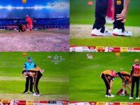 RCBvsSRH: सनराइजर्स को लगा बड़ा झटका, मुख्य खिलाड़ी मैच के दौरान हुआ चोटिल, देखें वीडियो 6