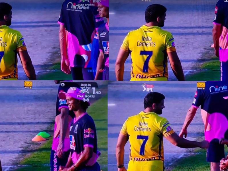 IPL 2020, VIDEO: मैदान पर महेंद्र सिंह धोनी के सामने नतमस्तक हो गये युवा यशस्वी जायसवाल 12