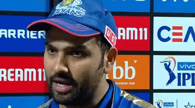 RRvsMI: जीत के बाद रोहित शर्मा ने बुमराह को नजरअंदाज कर इस खिलाड़ी को दिया जीत का श्रेय 2