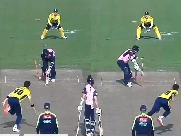 शाहीन अफरीदी ने 4 गेंदों पर झटके 4 विकेट, देखें वीडियो 1