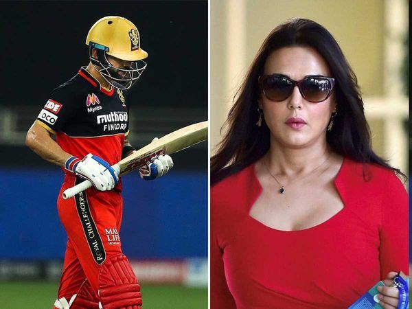 आईपीएल 2020- आरसीबी की सुपर ओवर में जीत के बाद प्रीती जिंटा ने इस अंदाज में दिया विराट कोहली के आलोचको को जवाब 7