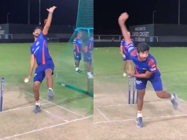 WATCH : जसप्रीत बुमराह ने की इन 6 गेंदबाजों के बॉलिंग एक्शन की नकल, उलटे हाथ से भी की गेंदबाजी 4
