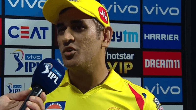 CSKvsKXIP : पंजाब के खिलाफ रिकॉर्ड जीत का श्रेय धोनी ने इन 2 खिलाड़ियों को दिया 1