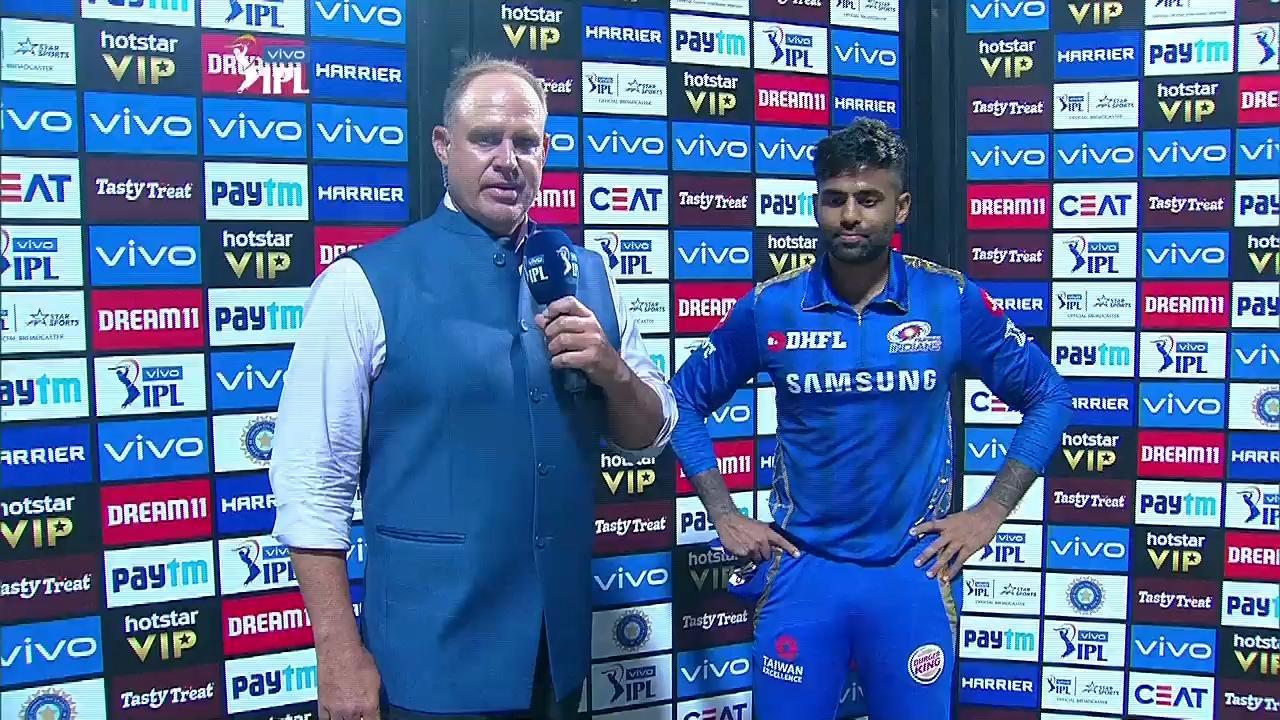 MIvsRR: मैन ऑफ द मैच बने सूर्यकुमार यादव ने इसको दिया अपनी बल्लेबाजी में सफलता का श्रेय 2