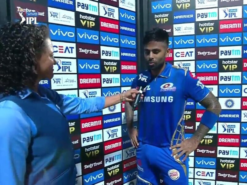 MIvsRR: मैन ऑफ द मैच बने सूर्यकुमार यादव ने इसको दिया अपनी बल्लेबाजी में सफलता का श्रेय 5