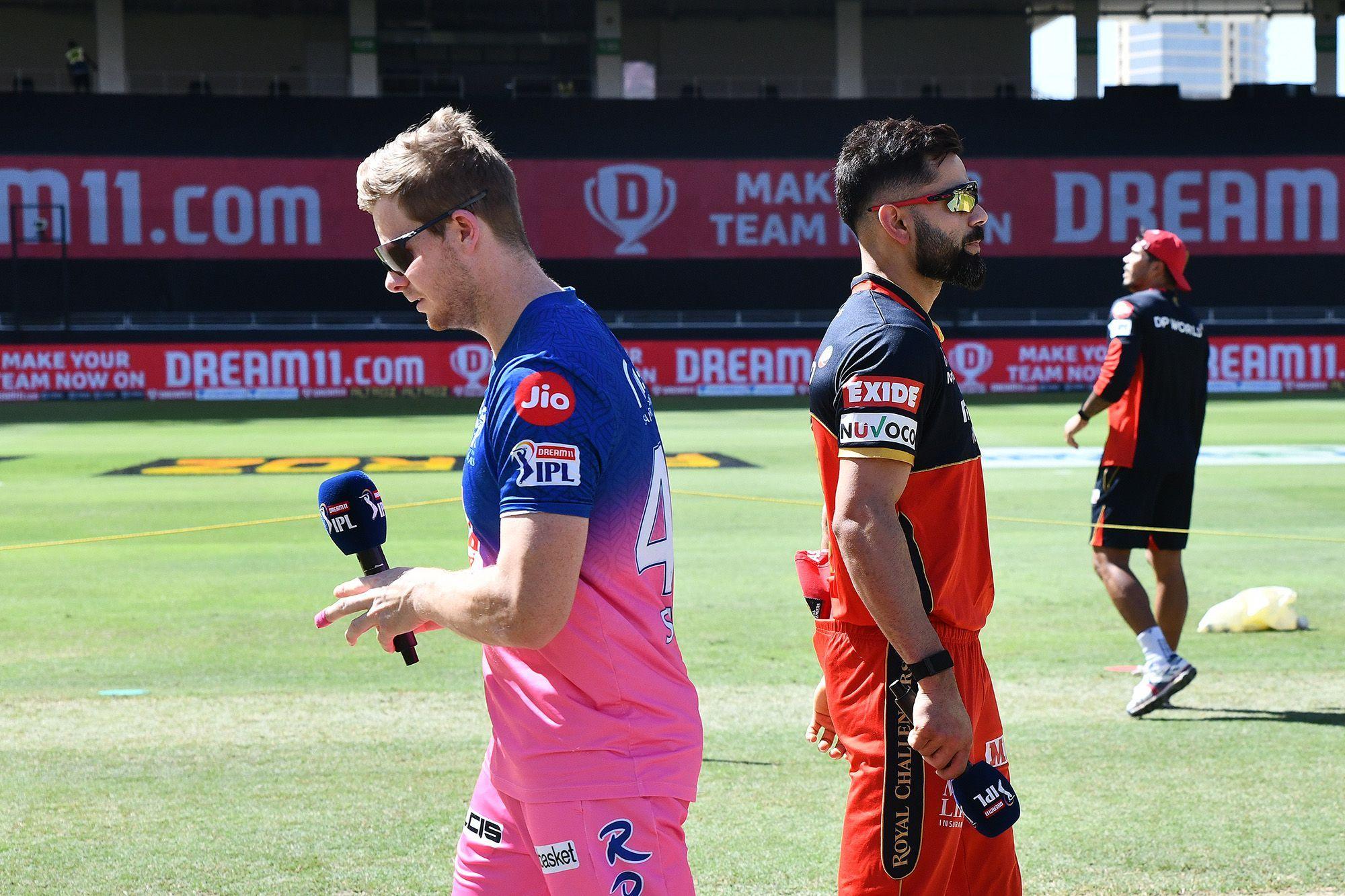 RRvsRCB: स्टीव स्मिथ की गलती पड़ी राजस्थान पर भारी, आरसीबी ने 7 विकेट से दर्ज की बड़ी जीत 2