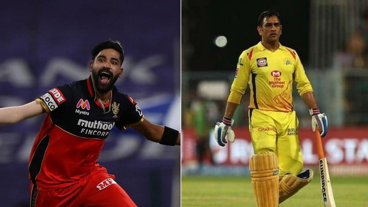 आईपीएल 2020- महेंद्र सिंह धोनी की मदद से अपने आलोचकों को जवाब देते हैं मोहम्मद सिराज 1