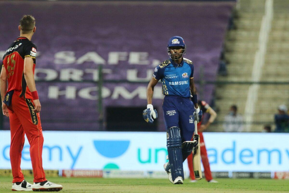 आईपीएल 2020- मैच के दौरान भिड़ गए हार्दिक पंड्या और क्रिस मौरिस, मैच रैफरी ने लिया ये एक्शन 1
