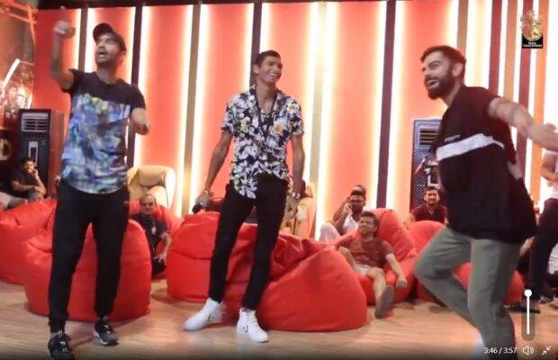 WATCH : विराट कोहली ने साथी खिलाड़ियों के साथ किया पंजाबी गाने में डांस, देखें वीडियो 5