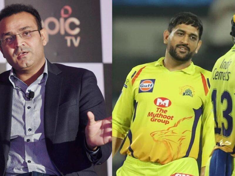 आईपीएल 2020- CSK के युवा खिलाड़ी मौका मिलने पर हुए फ्लॉप, तो वीरेंद्र सहवाग ने धोनी पर कही ये बात 5
