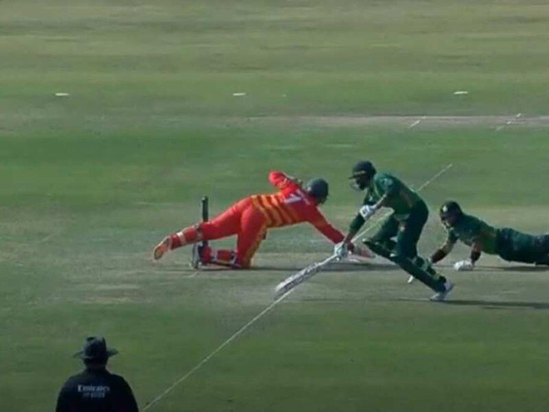 VIDEO: जिम्बाब्वे के खिलाफ मजाकिया अंदाज में रन आउट हुए इमाम उल हक, ट्वीटर पर उड़ा मजाक 9