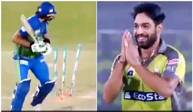 WATCH: शाहिद अफरीदी को शून्य पर आउट करने के बाद उनके हाथ जोड़ बैठा ये तेज गेंदबाज, देखें वीडियो 8