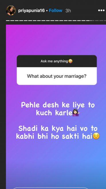 प्रिया पुनिया ने इन 2 पुरुष क्रिकेटरों को बताया अपना आइडल 4