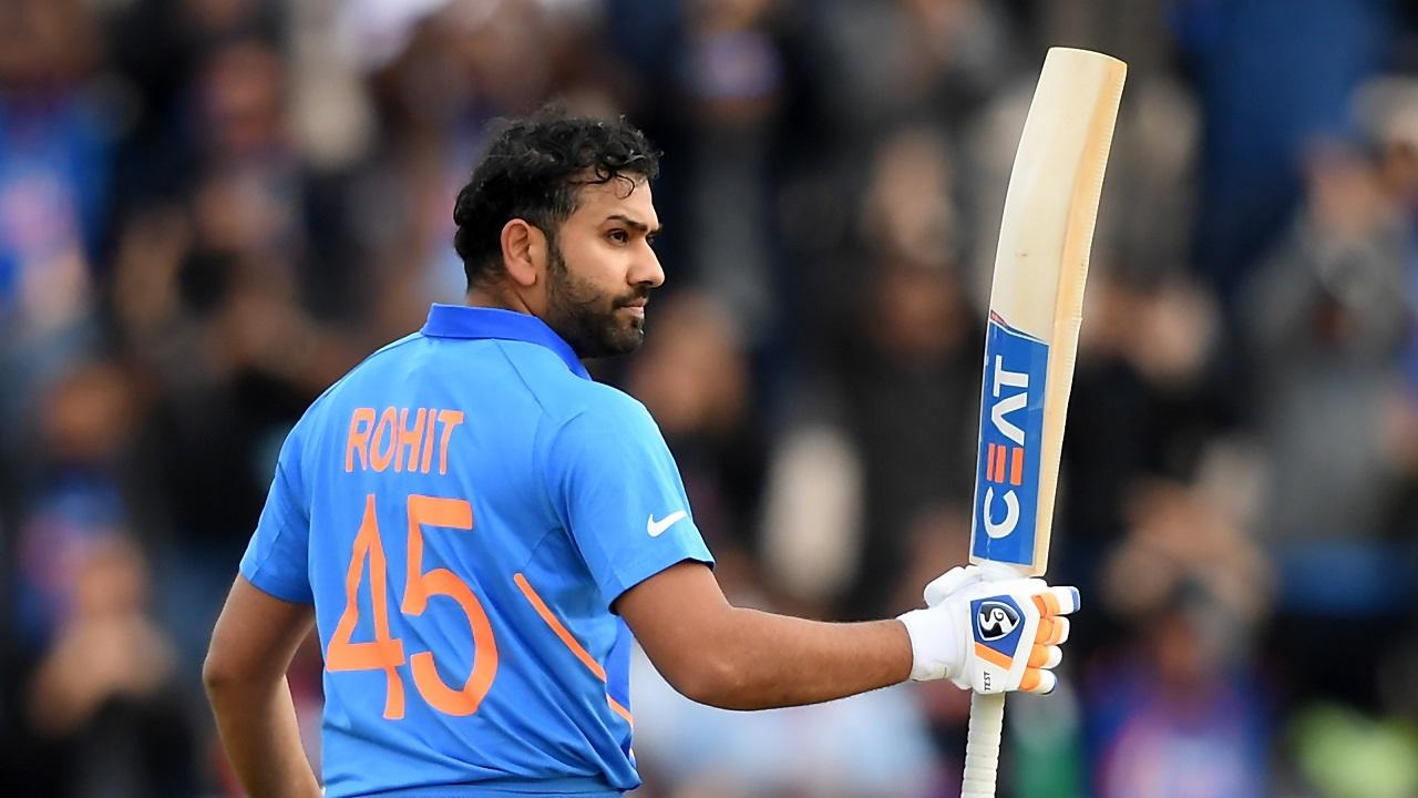 रोहित शर्मा 2015 विश्व-कप के दौरान