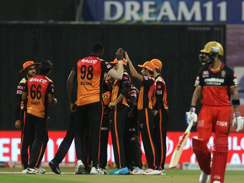 SRH vs RCB : STATS : मैच में बने 9 रिकॉर्ड्स, आरसीबी ने हार के साथ बना डाले कई शर्मनाक रिकॉर्ड 9