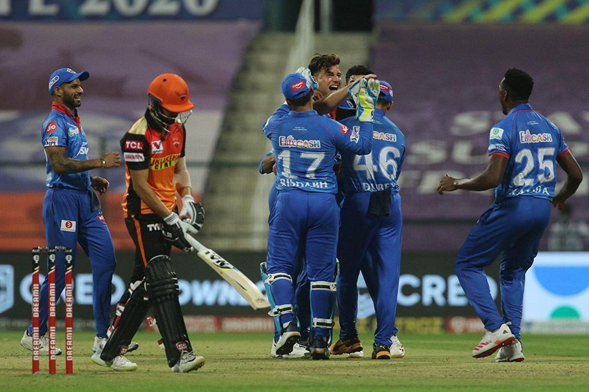 DCvsSRH, MATCH REPORT: हैदराबाद को 17 रनों से हराकर दिल्ली की टीम ने पहली बार फाइनल में बनाई जगह 4