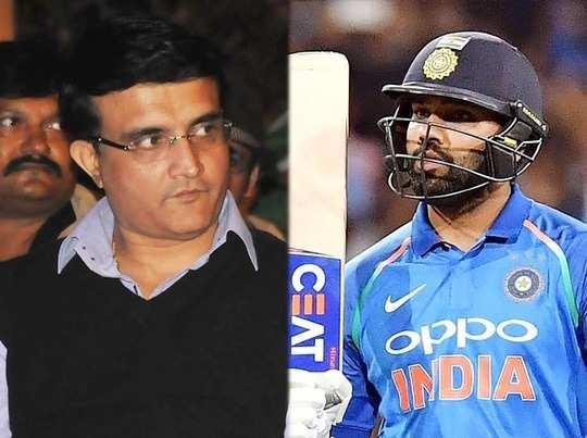 रोहित शर्मा की चोट को लेकर खड़े हुए विवाद के बीच सौरव गांगुली का आया बहुत ही चौंकाने वाला बयान 16
