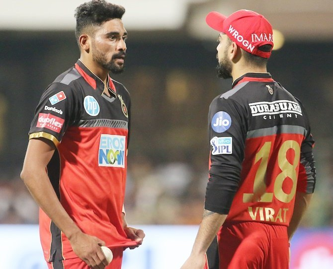 Virat Kohli inspired Mohammed Siraj, who lost his father