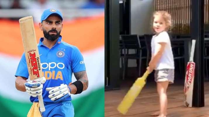 ऑस्ट्रेलिया के इस स्टार बल्लेबाज की बेटी बनना चाहती है विराट कोहली जैसी बल्लेबाज 7