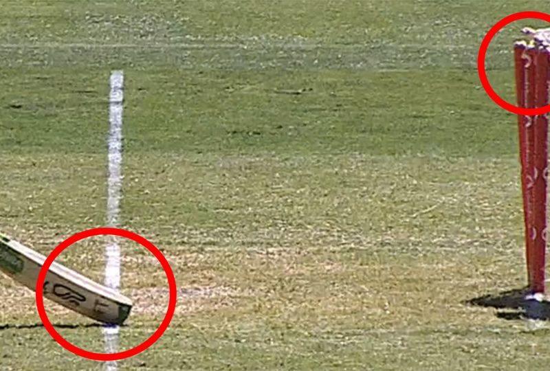 WATCH : ऑस्ट्रेलिया ने भारत के साथ की सरेआम बेमानी, आउट को दिया नॉट आउट 7