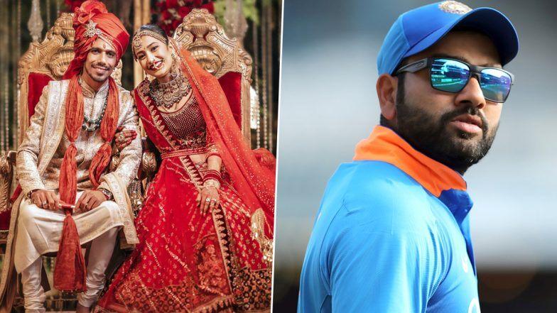 रोहित शर्मा ने युजवेंद्र चहल को ऐसे किया ट्रोल, उनकी पत्नी धनश्री वर्मा भी शर्मा जाए 1