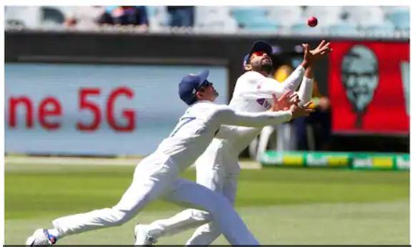 WATCH : कैच लेने के लिए रविन्द्र जडेजा और शुभमन गिल में हुई भयानक टक्कर, जाने अंत में क्या हुआ 3
