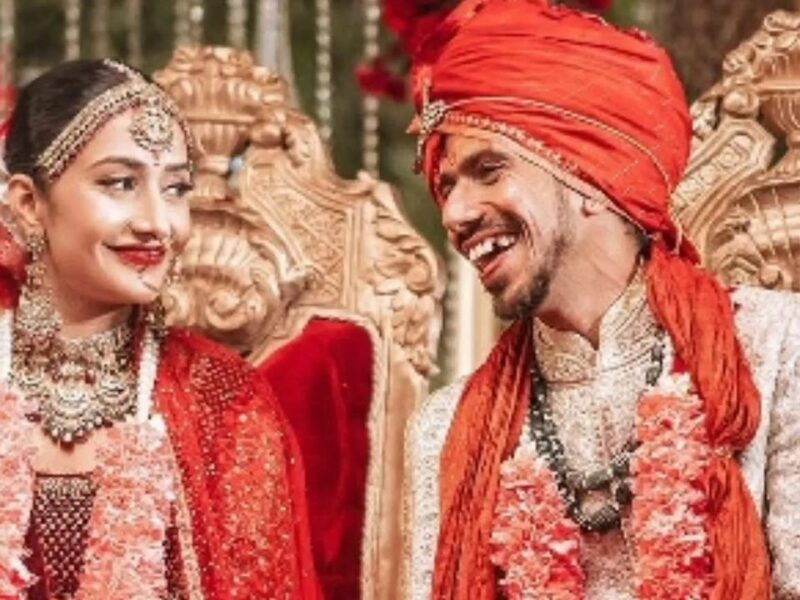धनश्री वर्मा के साथ शादी के बंधन में बंधे युज़वेंद्र चहल,  तो ट्विटर पर हरभजन-रैना जैसे दिग्गजों ने दी बधाई 4