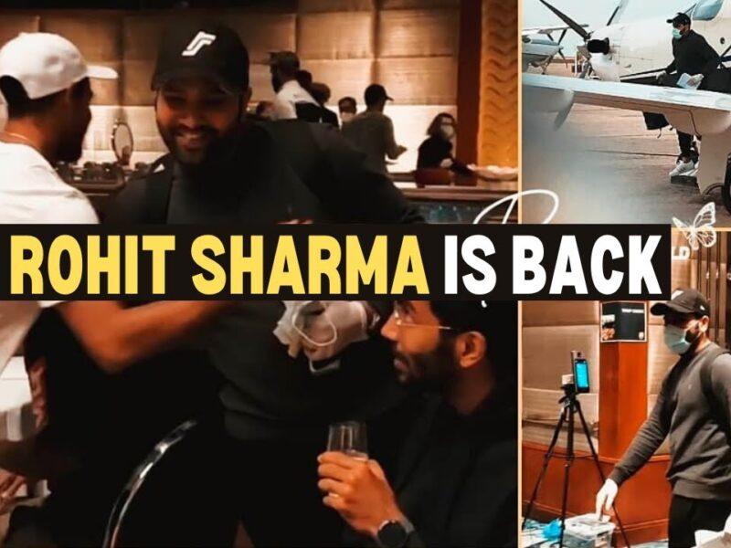 WATCH : तीसरे टेस्ट मैच से पहले भारतीय टीम से जुड़े रोहित शर्मा, साथी खिलाड़ियों ने ऐसे किया स्वागत 12