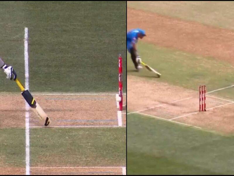 WATCH : एक गेंद पर 2 बार रन आउट हुआ बल्लेबाज, इस घटना को देख हर कोई हैरान 9