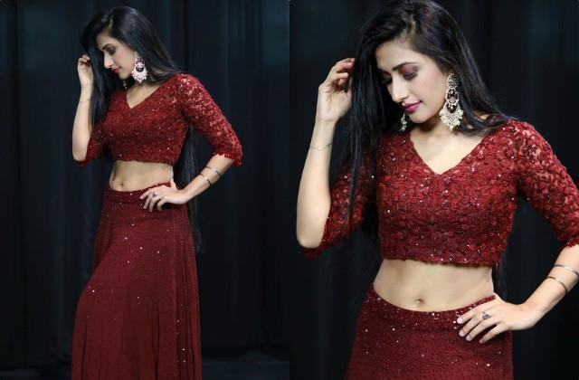 दुल्हन के ड्रेस में माधुरी दीक्षित के गाने पर डांस करती हुई नजर आई धनश्री वर्मा, वीडियो हुआ वायरल 2