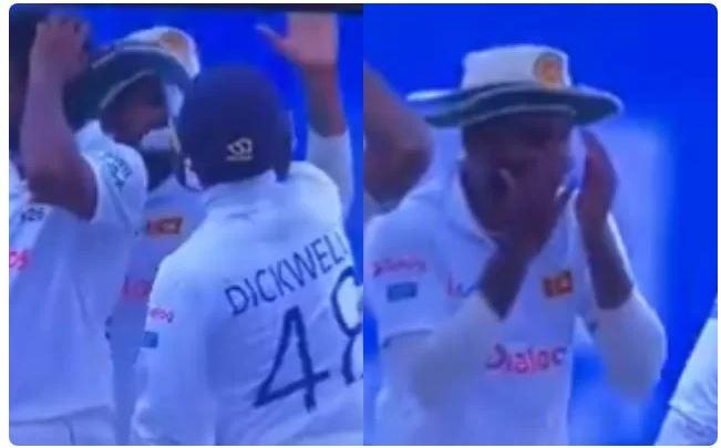 WATCH : निरोशन डिकवेला ने अपने ही साथी खिलाड़ी वनिंदु हसरंगा को जड़ा थप्पड़, ये थी वजह 6