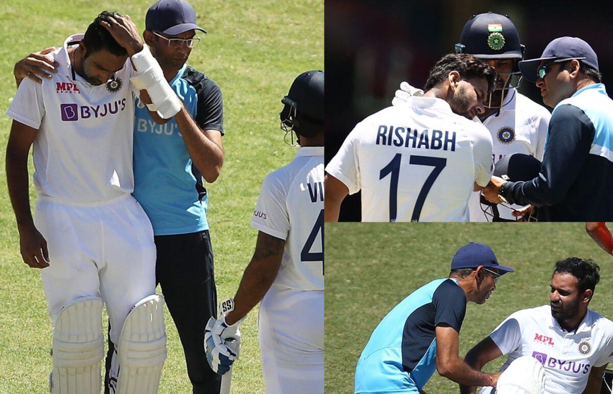 सिडनी टेस्ट में चोटिल होने वाले इन 4 खिलाड़ियों का ब्रिसबेन टेस्ट में खेलना मुश्किल 1