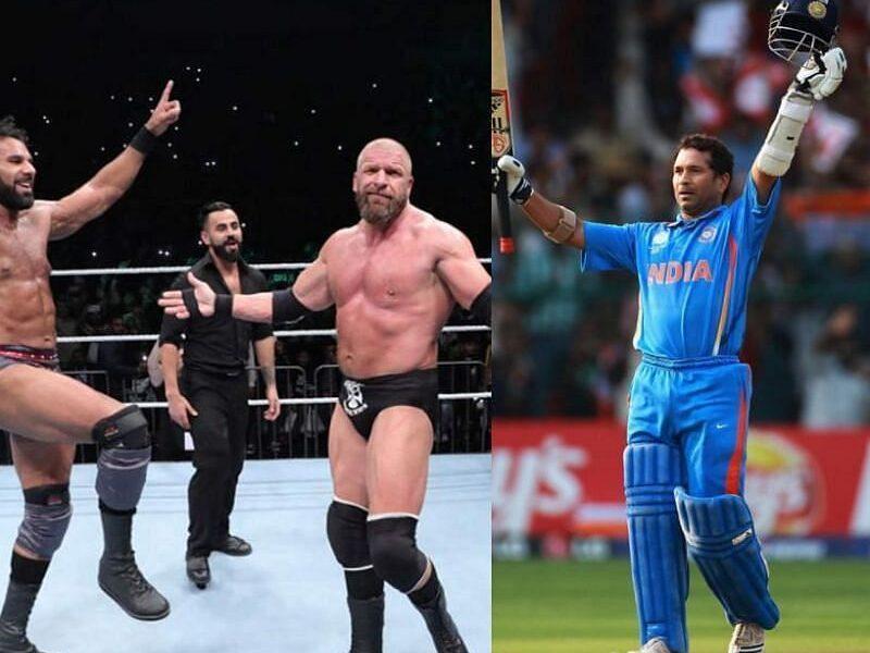 WWE सुपरस्टार ट्रिपल एच ने सचिन तेंदुलकर के लिए कही ये बात, जीता दिल 10