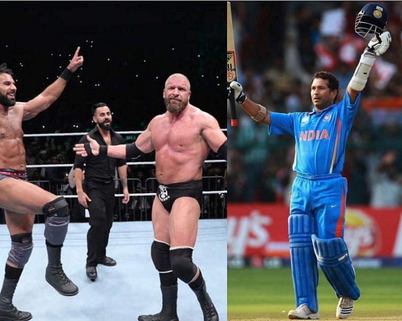 WWE सुपरस्टार ट्रिपल एच ने सचिन तेंदुलकर के लिए कही ये बात, जीता दिल 1