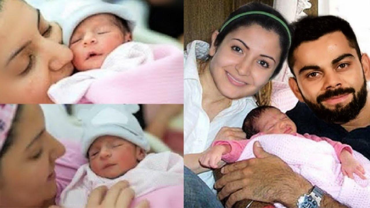 सोशल मीडिया पर वायरल हुई विराट कोहली की बेटी की पहली तस्वीर, फ़ैंस ने किया खुशी का इज़हार 2