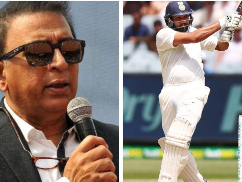 गैर जिम्मेदाराना शॉट खेलकर आउट हुए रोहित शर्मा, तो सुनील गावस्कर ने इस तरह लगाई फटकार 2