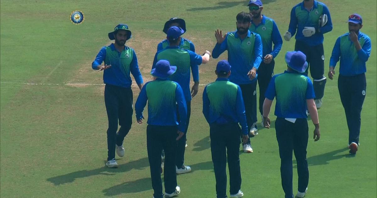 Vijay Hazare Trophy : भारतीय टीम में चयन के अगले दिन खेली ताबड़तोड़ पारी, खुद को किया साबित 1