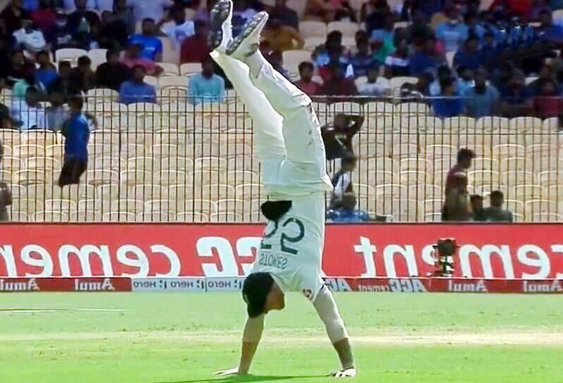 IND vs ENG: दूसरे टेस्ट मैच में बेन स्टोक्स ने किया शानदार स्टंट, VIDEO देख नहीं होगा यकीन 1