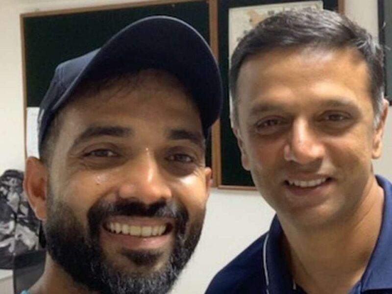 रवि शास्त्री नहीं, बल्कि राहुल द्रविड़ को दिया अजिंक्य रहाणे ने अपनी शानदार बल्लेबाजी का श्रेय 3