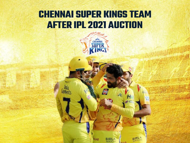 IPL 2021: आईपीएल के पहले मैच में इन 11 खिलाड़ियों के साथ उतर सकती है चेन्नई सुपर किंग्स 10