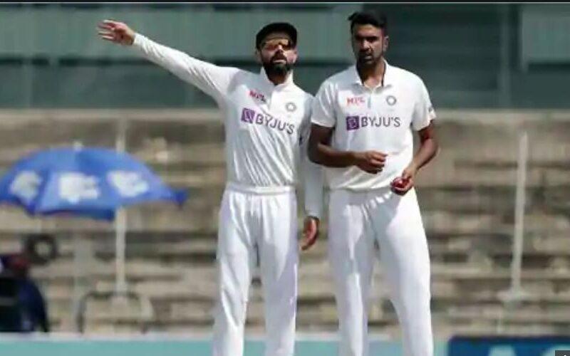 दूसरे टेस्ट मैच में विराट कोहली ने अश्विन को तमिल में दी बधाई 8
