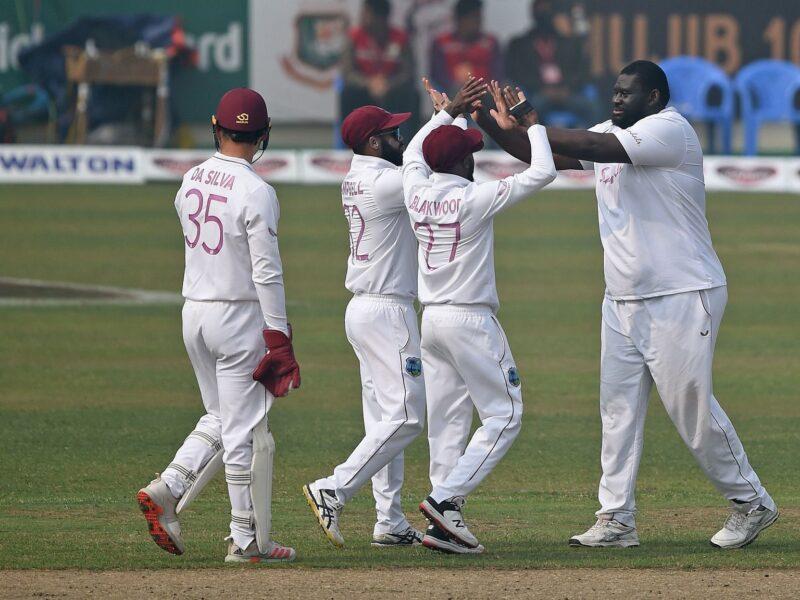 140 किलो के रहकीम कॉर्नवालके दम पर वेस्टइंडीज ने बांग्लादेश को 17 रन से हराया, सीरीज में 2-0 से किया कब्ज़ा 5