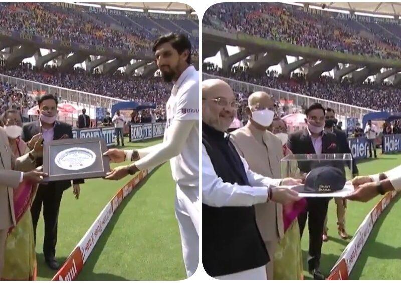 इशांत शर्मा के 100 वें टेस्ट पर राष्ट्रपति रामनाथ कोविंद ने दिया ये तोहफा 6