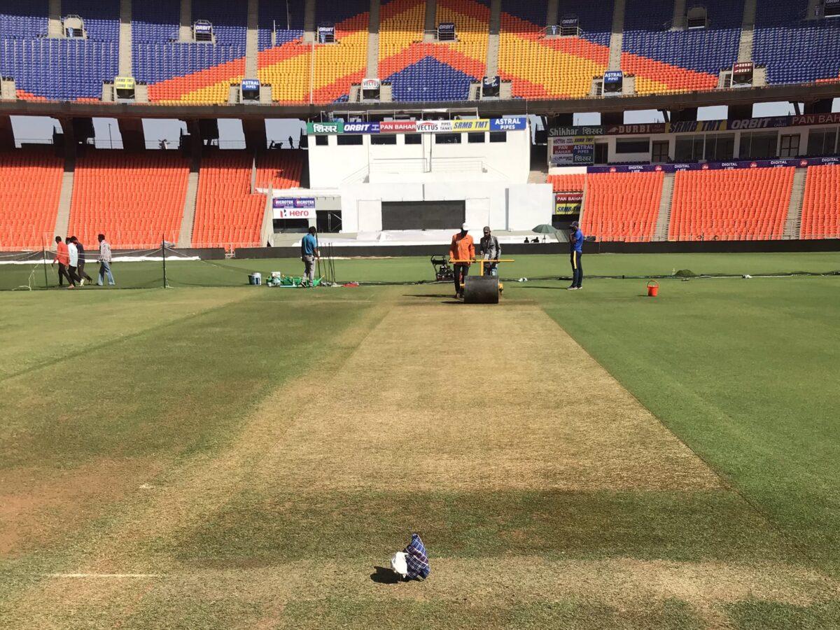 IND vs ENG : भारत-इंग्लैंड के बीच होने वाले चौथे टेस्ट के पिच की तस्वीर आई सामने, इस बार इन्हें करेगी मदद 2