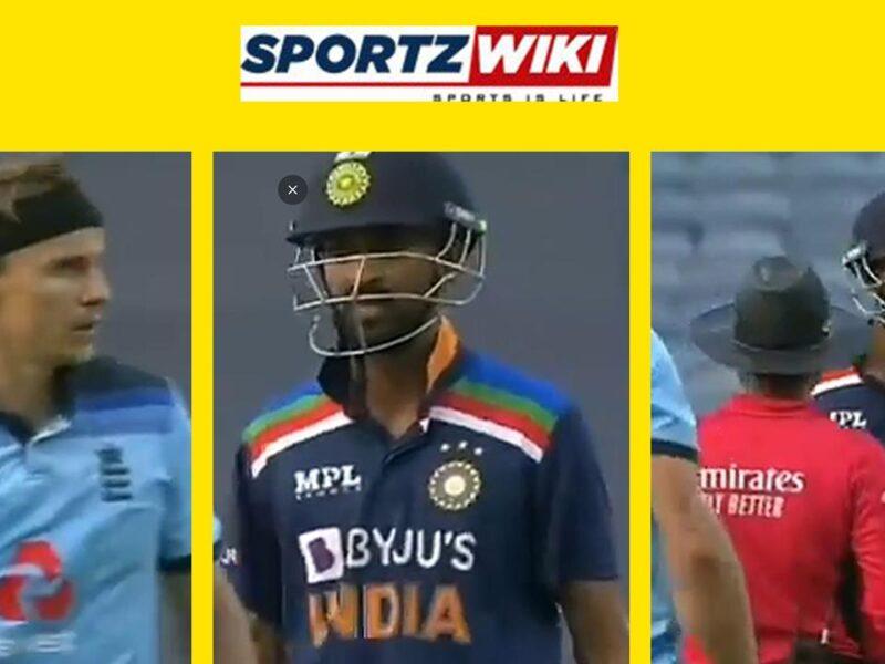 WATCH : डेब्यू मैच में ही मैदान पर टॉम कर्रन से भिड़े क्रुनाल पांड्या, ये था मामला 7